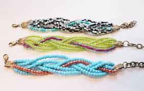 braided bead bracelet diy images Ispywithmycraftyeyes easy multi strand braided bracelet tutorial JPG