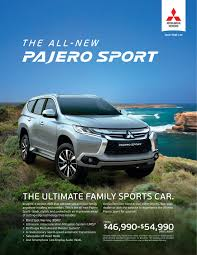 mitsubishi toyota mitsubishi u0027s all new pajero sport is at dvg now