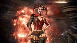 ps4 themes harley quinn video injustice 2 video game reveals harley quinn and deadshot