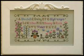 Country Cottage Needlework by Country Cottage Needleworks Summer Garden Cross Stitch Pattern