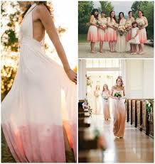 dip dye wedding dress style crush dip dye wedding dresses diy dip dyed