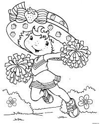cartoon printable coloring pages funycoloring