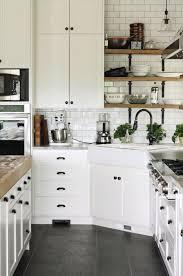 photo deco cuisine cuisine blanche en bois deco cuisine blanc et bois la cuisine