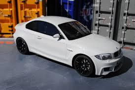 bmw 1m black dgdg diecast bmw 1m e82 white with black wheels diecast