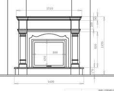 Standard Fireplace Dimensions by Average Fireplace Dimensions Learn Pinterest Mantels Mantle