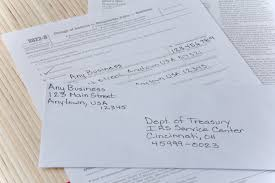 how to change a business address with the irs bizfluent