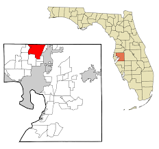 Tampa Bay Zip Code Map by Lutz Florida Wikipedia