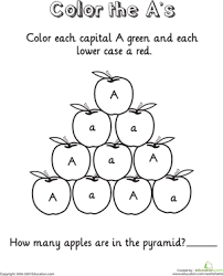 the letter a worksheets free worksheets library download and