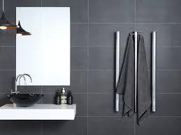 bathroom stylish heated towel bar for bathroom furniture ideas