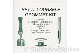 Silver Top Awnings Grommet Setting Kit Silver Grommet Studsandspikes Com
