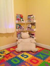 reading nook in ella u0027s playroom ikea spice racks ella u0027s