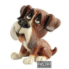 boxer figurine paws boxer boxerfigurines yourpresents co uk