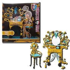 Vanity Playset Monster High Furniture Cleo De Nile Vanity Playset Ebay