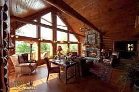 Log Home Interior Photos Golden Eagle Log Homes Log Home Cabin Pictures Photos