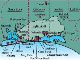 Panhandle Florida Map by Hurlburt Field Afb Fl Us Air Force Pinterest Fields And