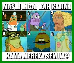 Meme Comic Indonesia Spongebob - meme rage comic indonesia pecinta spongebob pasti tau nih v