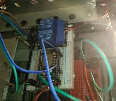 garage door opener circuit esp8266 nodemcu relay wifi garage door opener with blynk