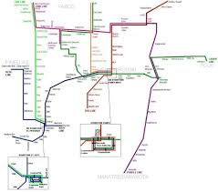Atlanta Marta Train Map by Fantasy Transit Maps Highway Railroad Major Florida Urban