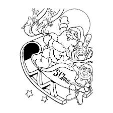 Sélection de dessins de coloriage père noël à imprimer sur LaGuerche