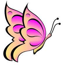 pink butterfly clipart clipart panda free clipart images