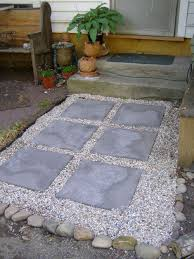 gravel backyard design and ideas of house