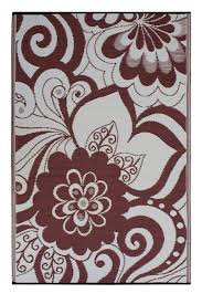 Woven Plastic Outdoor Rugs by Amazon Com Fab Habitat Maui Recycled Plastic Rug Cranberry Red