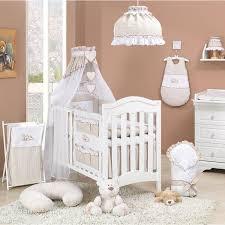 chambre bébé beige parure de lit bébé 14 pièces 60x120cm beige et blanc achat vente