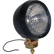 buyers products 12 volt halogen utility light 5in 35 watts
