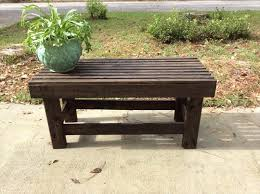 Rustic Outdoor Bench Plans Diy Versatile Pallet Outdoor Bench Pallet Furniture Plans