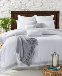 Embroidered Bedding Sets Edison 10 Pc Embroidered Comforter Sets Bed In A Bag Bed