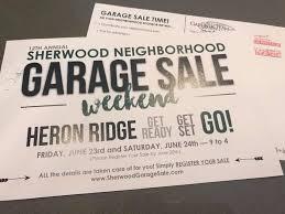 garage sale weekend in sherwood or home facebook