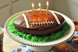 football cake how to make a football shaped cake leaftv