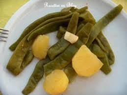 comment cuisiner les haricots plats salade de haricots plats ailles aux pommes de terre recette ptitchef