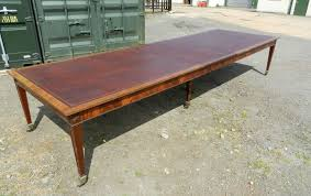 Antique Boardroom Table Large Antique Boardroom Table 14ft Georgian Styled