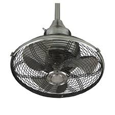 Ceiling Fan With Cage Light Caged Ceiling Fans With Lights