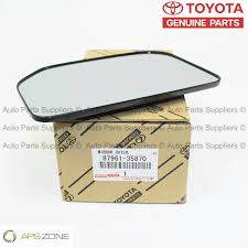 lexus gx470 driver side mirror genuine toyota driver side outer mirror fj cruiser oem 87961 35870