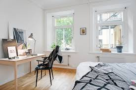 Nordic Home Interiors 59 Square Meters Of Open Lines Nordic Home Bedroom Interior Design