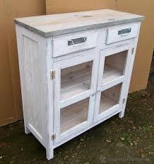 muebles decapados en blanco alacena o despensa de madera mueble blanco dec comprar muebles