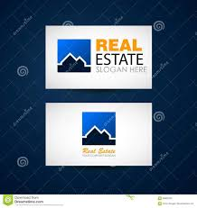 Real Estate Agent Business Card Template by Real Estate Logo Design Real Estate Business Company Building