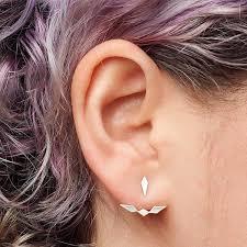 jacket earrings inez ear jacket earrings lianne