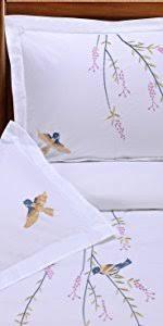 Embroidered Duvet Cover Sets Amazon Com Superior Harrison 100 Cotton Duvet Cover Set With 2