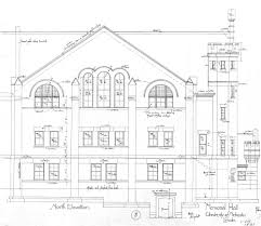Building Plan by Unl Historic Buildings Grant Memorial Hall Building Plans