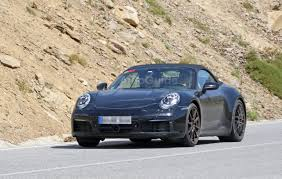 porsche convertible porsche 992 convertible resurfaces for weather testing