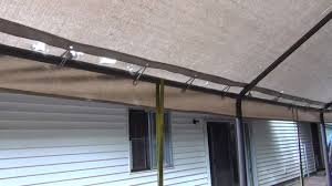 Garage Awning Kit Carport Canopy Replacement Youtube