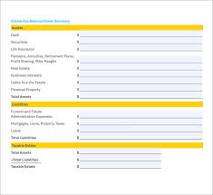 Opening Day Balance Sheet Template Sle Balance Sheet 5 Documents In Pdf Word Excel