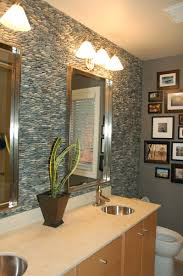 Pictures For Bathroom Wall Decor by Bathroom Dazzling Small Bathroom Decor With Natural Stone Wall