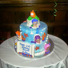 bubble guppies cake queenie cakes