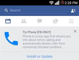 fb app android inc fb working on a new phone app