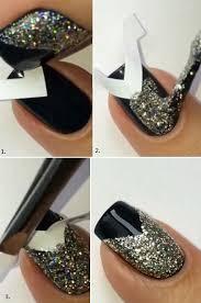 awesome glitter nail art tutorial entertainment news photos