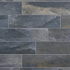 meridian slate gray porcelain tile 6in x 24in 100190156